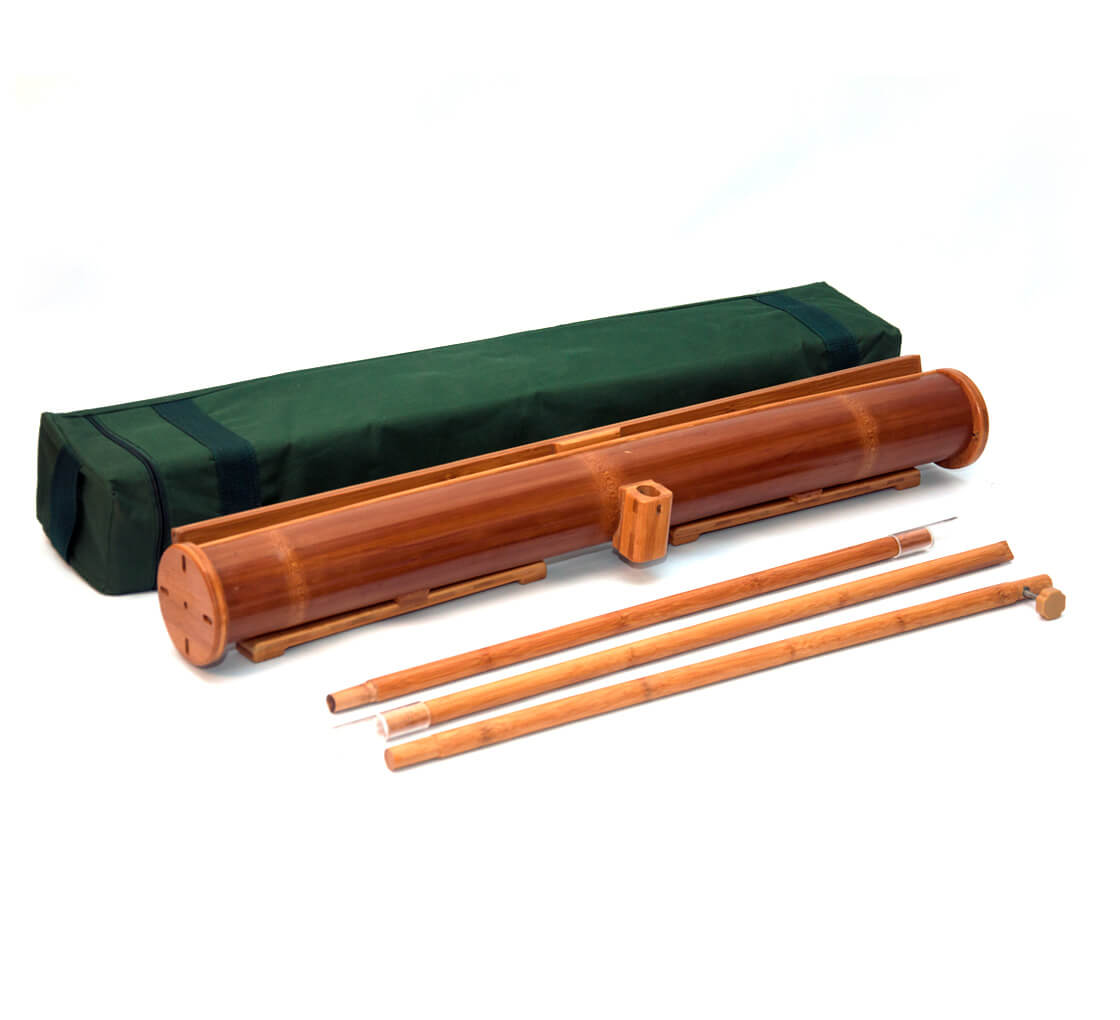 Bamboo Roll Up Stands