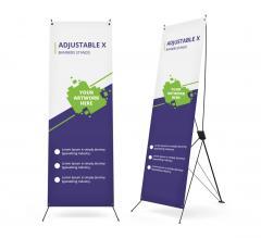 Adjustable X Banner Stands
