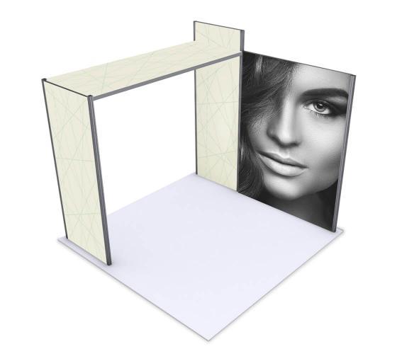 Alpine Booth - Configuration A