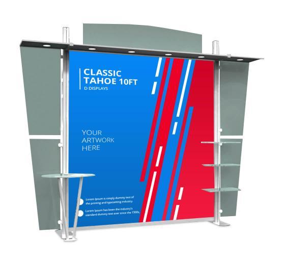 Classic Tahoe 10ft D Displays