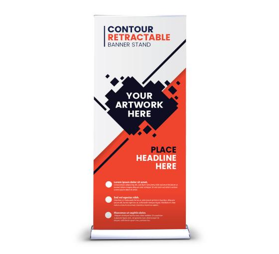 Contour Retractable Banner Stands