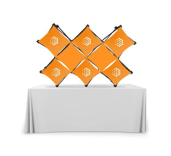 Double X Micro GeoMetrix Table Top Display