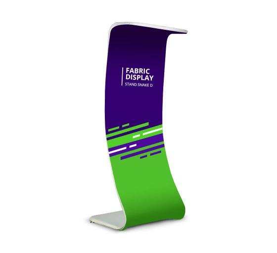 Fabric Display Stand Snake D