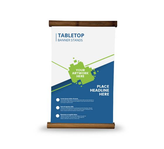 TableTop Banner Stands